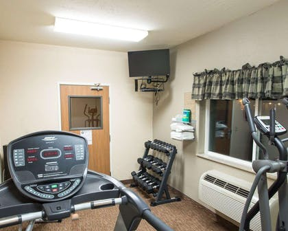 Fitness center with television | Comfort Inn Fort Morgan