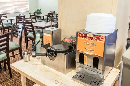 Free breakfast with waffles | Quality Inn & Suites Denver International Airport