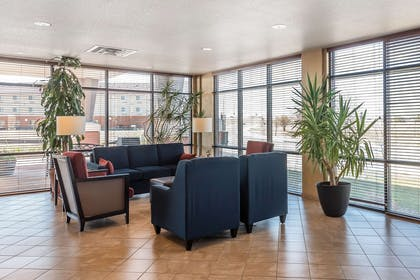 Spacious lobby with sitting area | Comfort Suites Longmont