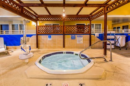 Relax in the hot tub | Quality Inn & Suites
