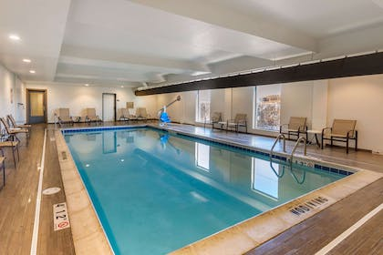 Indoor pool   MainStay Suites Near Denver Downtown