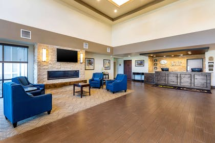Hotel lobby   MainStay Suites Near Denver Downtown