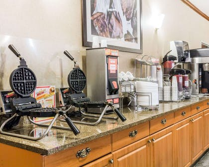 Free breakfast with waffles | Quality Inn & Suites Denver North - Westminster