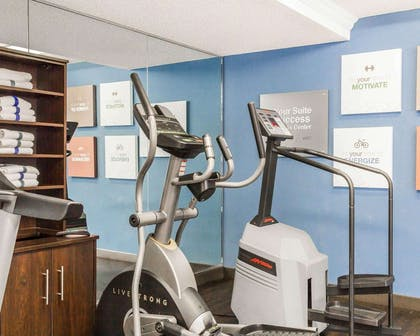 Exercise room with cardio equipment | Quality Inn & Suites Denver North - Westminster