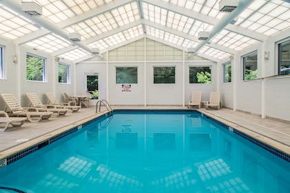 Relax by the pool | Quality Inn and Suites Danbury