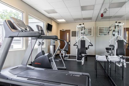 Exercise room | Quality Inn and Suites Danbury