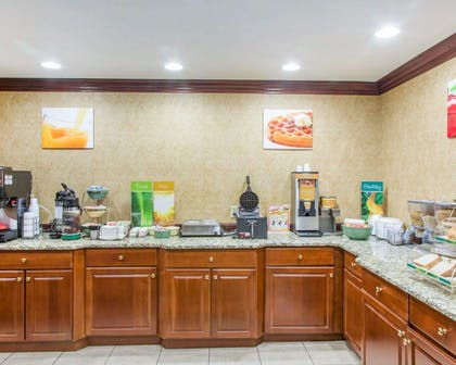 Free breakfast with waffles | Quality Inn & Suites