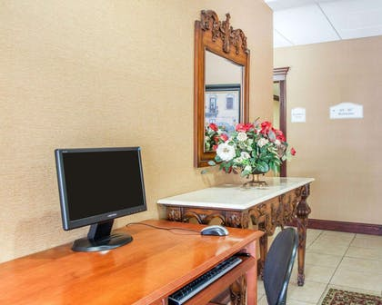 Business center with free wireless Internet access | Quality Inn & Suites