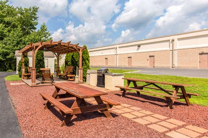 Barbecue area | Quality Inn & Suites