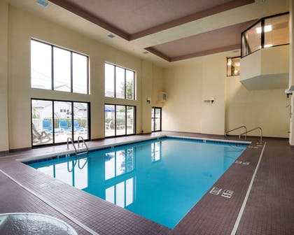 Indoor heated pool | Quality Inn & Suites Rehoboth Beach - Dewey