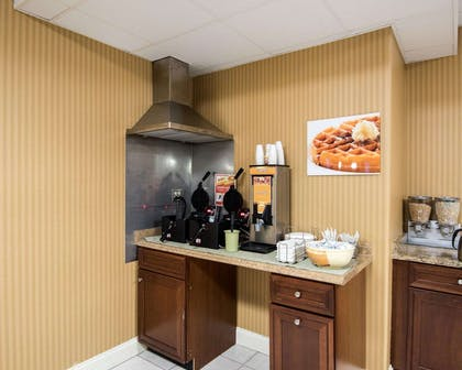 Free breakfast with waffles | Quality Inn & Suites Rehoboth Beach - Dewey