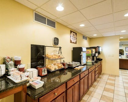 Assorted breakfast items | MainStay Suites Dover