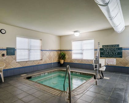 Relax in the hot tub | Comfort Inn & Suites