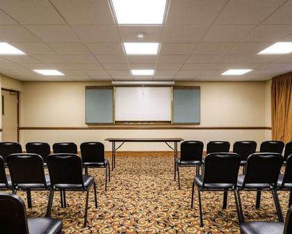 Meeting room with theater-style setup | Comfort Inn & Suites