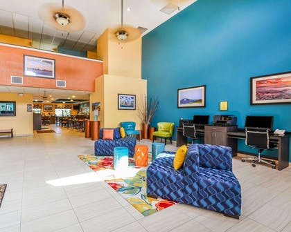 Business center in the lobby | Comfort Suites Tampa - Brandon
