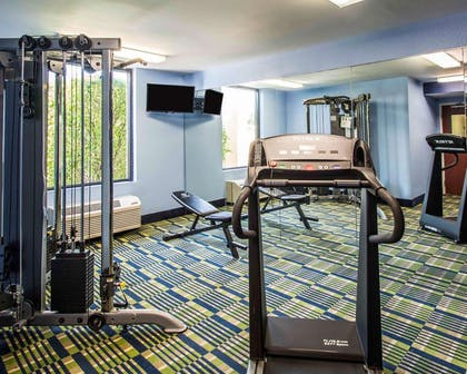 Exercise room with cardio equipment   Comfort Inn & Suites Lantana - West Palm Beach South