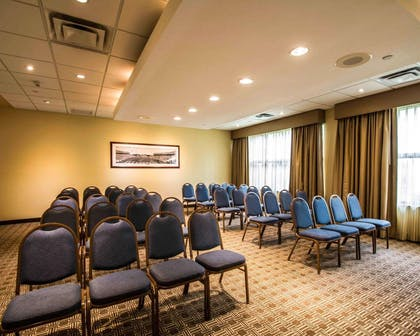 Meeting room with theater-style setup | Comfort Suites Miami - Kendall