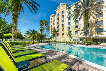 Relax by the pool | Comfort Suites Maingate East