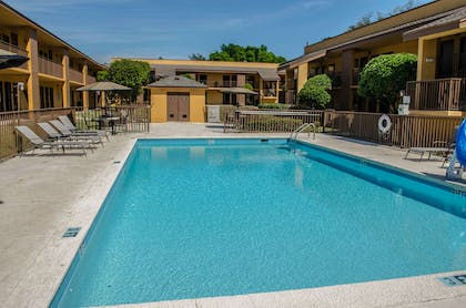 Relax by the pool | Quality Inn At Eglin AFB