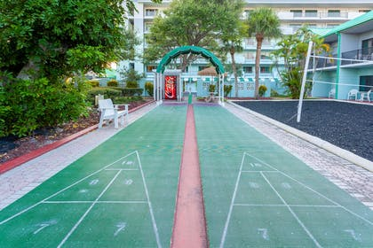 Shuffleboard | Quality Inn & Suites Port Canaveral Area