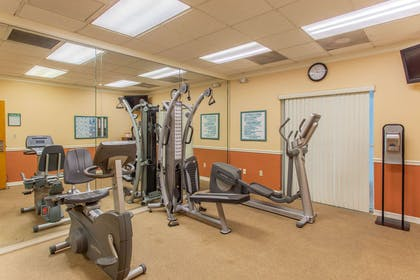 Fitness center | Quality Inn & Suites Port Canaveral Area