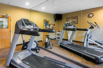 Exercise room with cardio equipment | Sleep Inn and Suites - Ocala / Belleview