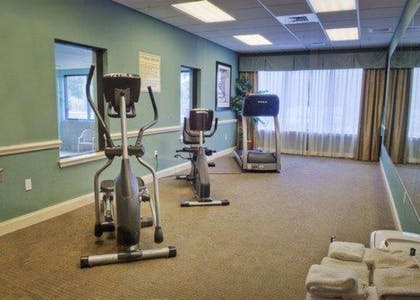 Fitness center with cardio equipment | Comfort Inn And Suites