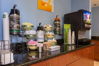 Assorted breakfast items   Quality Suites Lake Buena Vista