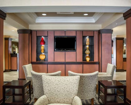 Spacious room with flat-screen television | Comfort Suites Vero Beach I-95