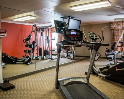 Fitness center with television | Quality Inn & Suites Near Fairgrounds Ybor City