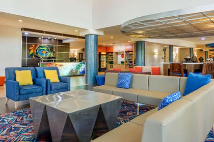 Cambria Suites features large social gathering areas where guests may sit | Cambria Hotel Ft Lauderdale, Airport South & Cruise Port
