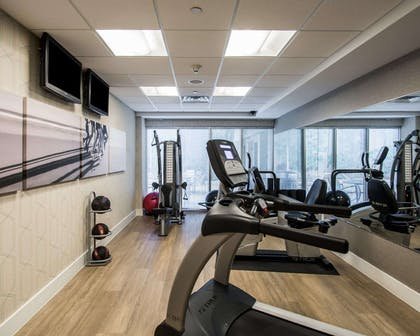 Fitness center | Comfort Suites Miami Airport North
