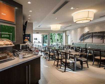 Breakfast counter | Comfort Suites Miami Airport North