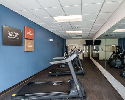 Exercise room with cardio equipment | Comfort Suites Fort Lauderdale Airport South & Cruise Port