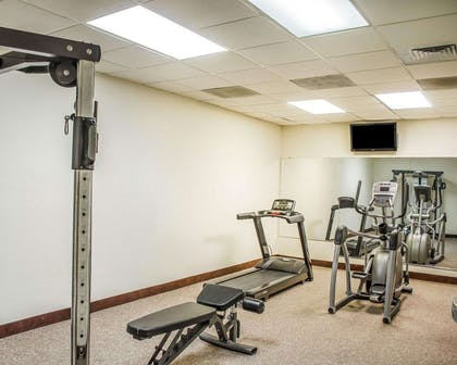Fitness center | Quality Inn & Suites Pensacola Bayview