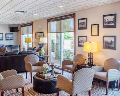 Spacious lobby with sitting area | Comfort Inn & Suites Crestview