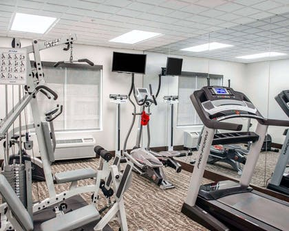Fitness center with television | Comfort Inn & Suites Crestview