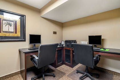 Computer in the lobby | Comfort Inn & Suites Clearwater Pinellas Park