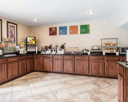 Assorted breakfast items | Comfort Inn & Suites near Robins Air Force Base