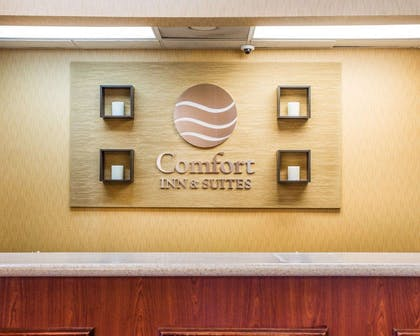 Front desk | Comfort Inn & Suites at Stone Mountain