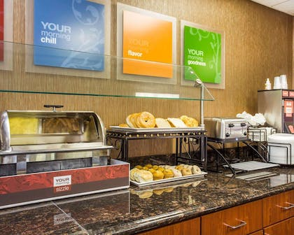 Assorted breakfast items | Comfort Inn & Suites at Stone Mountain