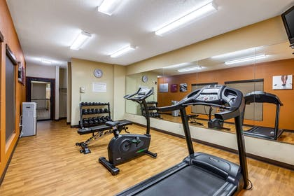 Fitness center   Comfort Suites near Robins Air Force Base