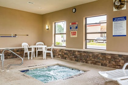Indoor hot tub   Comfort Suites near Robins Air Force Base