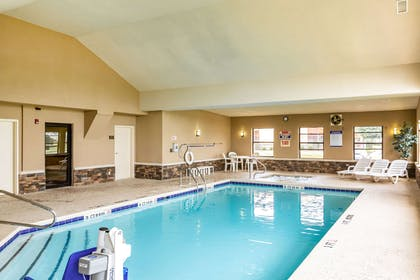 Indoor pool   Comfort Suites near Robins Air Force Base