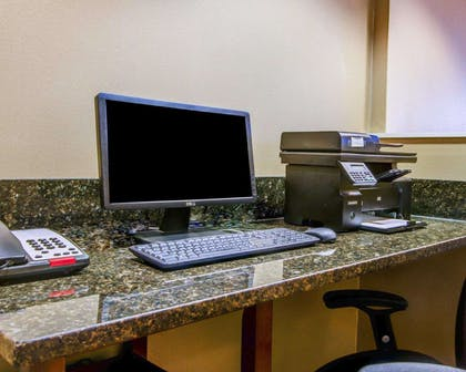 Business center with high-speed Internet access | Comfort Suites Gwinnett Medical Center Area