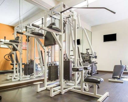 Fitness center with television   Comfort Suites Northlake
