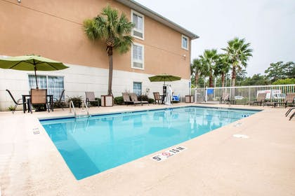 Relax by the pool | Sleep Inn And Suites Valdosta