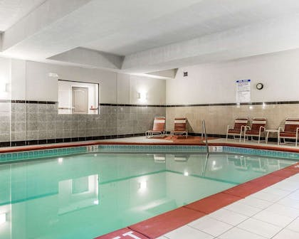 Relax at the indoor pool | Comfort Suites Morrow- Atlanta South
