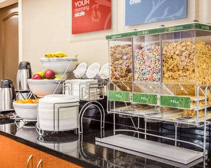 Assorted breakfast items | Comfort Suites Morrow- Atlanta South