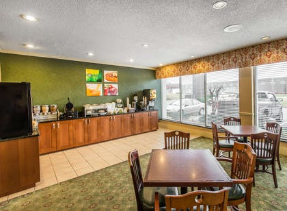 Spacious breakfast area | Quality Inn & Suites Conference Center